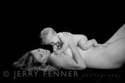 Mum and baby playing